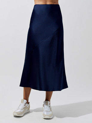 Carbon38 Silky Bias Cut Skirt