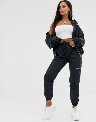 My Mum Made It relaxed cargo trousers with reflective logo co-ord