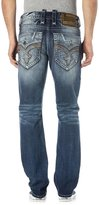 Rock Revival Men's Kyson A203 Alt Straight Cut Jeans