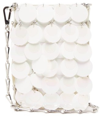 Paco Rabanne Sparkle 1969 Mini Sequinned Cross-body Bag - White