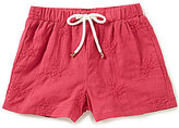 Copper Key Big Girls 7-16 Embroidered Woven Shorts