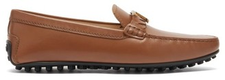 Tod's Gommino Logo-plaque Leather Loafers - Tan