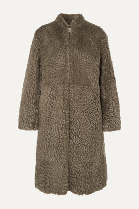 Chloé Shearling Coat - Army green