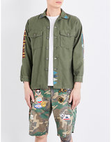 Hollywood Trading Company Cotton military jacket