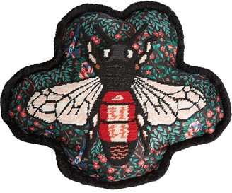 Gucci Bee embroidered cushion