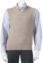 Dockers Men's Classic-Fit Cable-Knit Sweater Vest