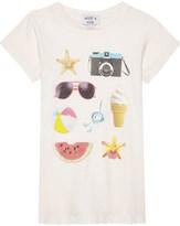 Wildfox Couture Beach Essentials cotton T-shirt 7-14 years