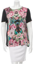 Nicholas Silk Floral Print Top
