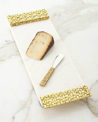 Michael Aram Palm Cheese Board with Spreader