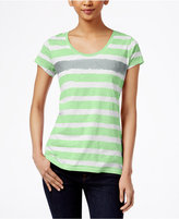 Style&Co. Style & Co Striped Tee, Only at Macy's