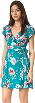 MinkPink Pretty Primrose Wrap Tea Dress
