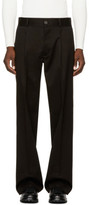 Ports 1961 Black Casual Trousers