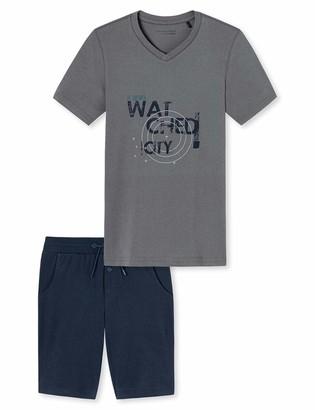 Schiesser Boy's Schlafanzug Kurz Pyjama Set
