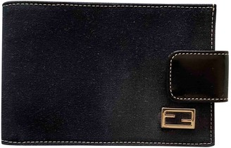 Fendi Blue Leather Small bags, wallets & cases