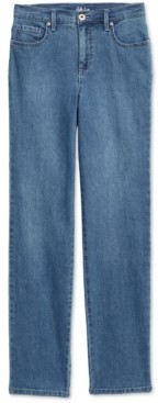 Style&Co. Style & Co Petite Natural Straight-Leg Jeans, in Petite & Petite Short, Created for Macy's