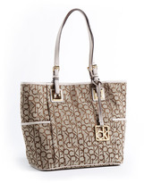Calvin Klein East/West Logo Jacquard Tote Bag