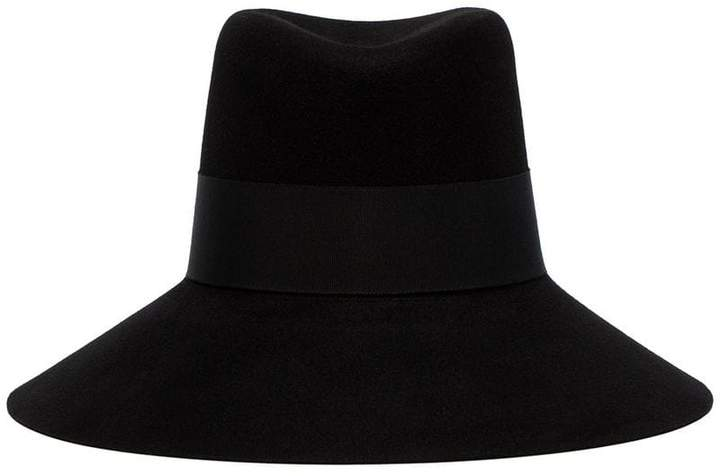 1f27da43e4b Black Felt Hat - ShopStyle