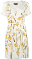 Loro Piana Selma dress - women - Silk/Lamb Skin - M