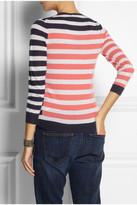 J.Crew Tippi striped cashmere sweater