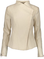 Kensie Oatmeal Asymmetrical Coat