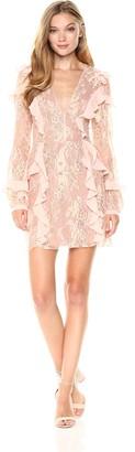 For Love & Lemons Women's Bumble Long Sleeve Dress