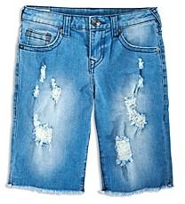 True Religion Boys' Geno Relaxed Straight Knit Shorts - Little Kid, Big Kid