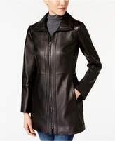 Anne Klein Leather Coat