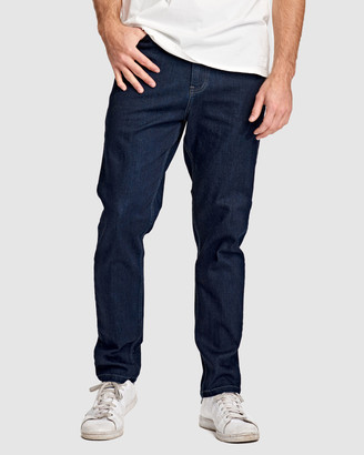 RES Denim Men's Navy Jeans - Dylan Tapered Jean - Size One Size, 32 at The Iconic