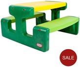 Little Tikes Large Picnic Table - Evergreen