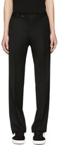 Valentino Black Wool Trousers