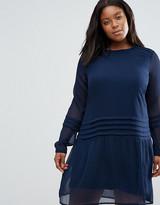 Junarose Plus Edina Pleated Dress