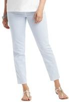 LOFT Maternity Skinny Ankle Jeans in Wonder Dot