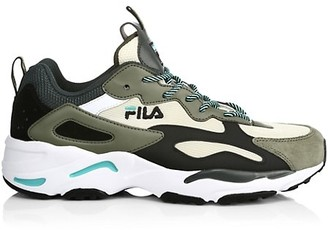 Fila Ray Tracer Leather & Mesh Sneakers