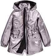 Very Girls Metallic Raincoat