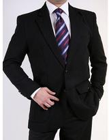 Ferrecci Men's Black Two-button Sportcoat