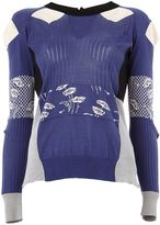 Maison Margiela patchwork jumper - women - Silk - L