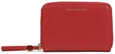 Lulu Guinness Women's Small Zip Around Wallet Red