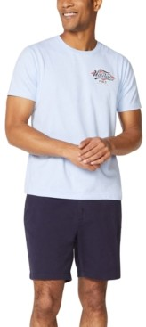 Nautica Men's Mermaid Logo T-Shirt