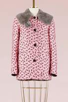 Marni Fur collar jacket