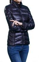 HengJia Women's Packable Down Puffer Coat Lightweight Down Winter Jacket Medium