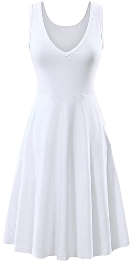 71f5907a22 Casual White Sundress - ShopStyle Canada