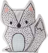 Living Textiles Sparrow Fox Character Cushion