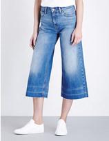 Levi's The wide-leg denim culottes