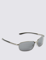 M&S Collection Polarised Oval Sunglasses