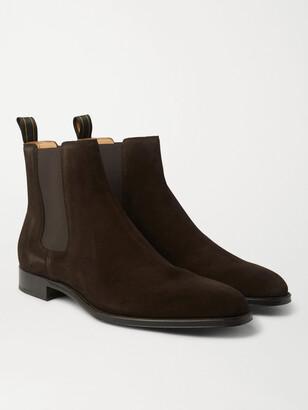 Dunhill Kensington Suede Chelsea Boots