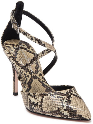Jessica Simpson Ambrie Pointed Crossover High Heel
