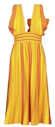 Carolina Herrera 3/4 length dress