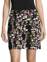 I.N.C International Concepts Petite Printed Mini Skirt