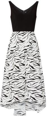 Gina Bacconi Narine Zebra Dress