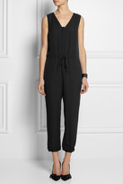 Theory Silk-crepe jumpsuit